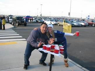 Tailgating with Point Pong